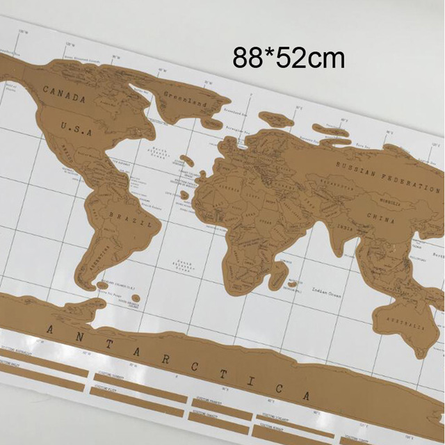 1pcs deluxe erase black world map scratch off world map 1pcs deluxe erase black world map scratch off world map personalized travel scratch ezdeals one place for all deals and discount codes gumiabroncs Image collections