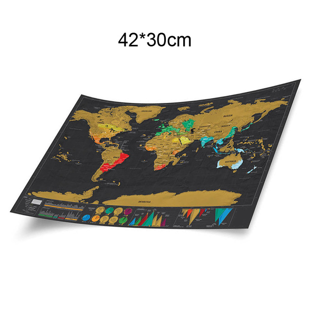 1pcs deluxe erase black world map scratch off world map 1pcs deluxe erase black world map scratch off world map personalized travel scratch ezdeals one place for all deals and discount codes gumiabroncs Choice Image