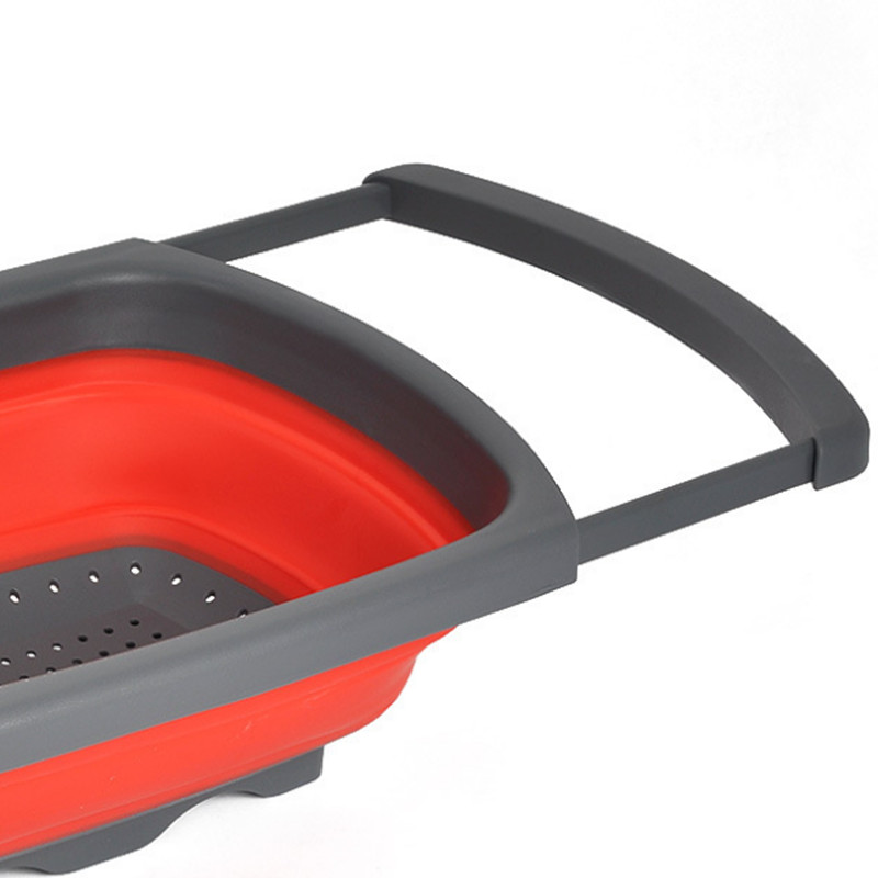 Collapsible Over The Sink Silicone Colander With Handle U2013 EZdeals.org U2013 One  Place For All Deals And Discount Codes