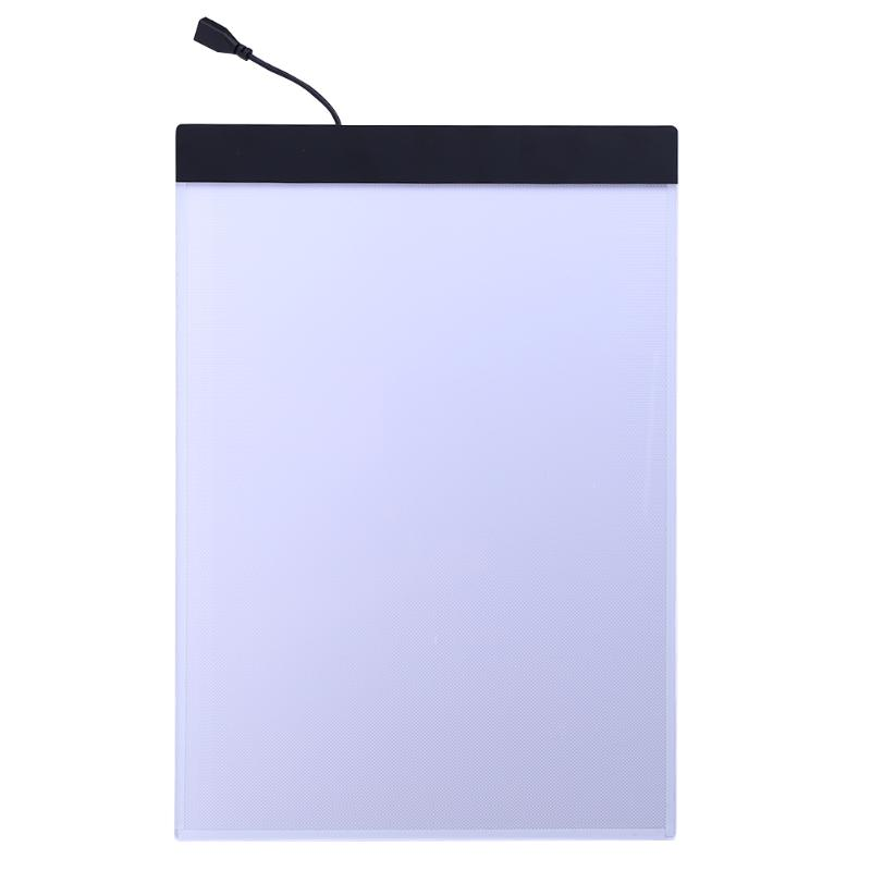 A4 Led Stencil Board Light Box Artist Tracing Drawing Copy Plate Table Gift Office & School Supplies